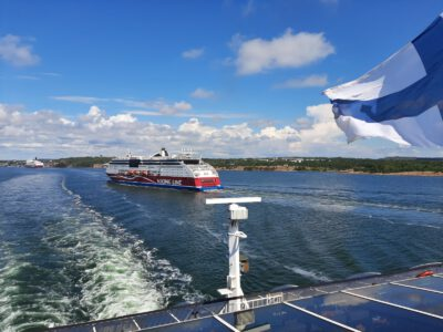 On the boat again – Baltic Princess