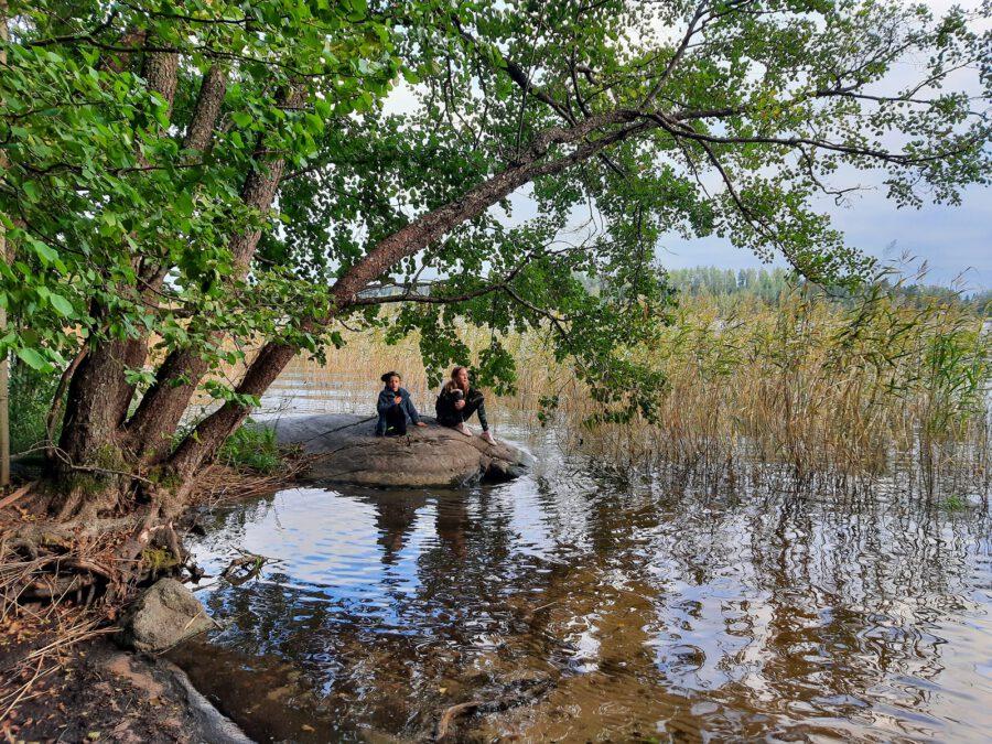 Lohja – Karkalin luonnonpuisto & Torholan luola